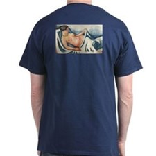 Reclining Nude by Macke T-Shirt