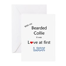 Bearded Lick Greeting Cards (Pk of 20)