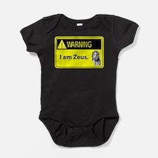 Cute I am greek Baby Bodysuit