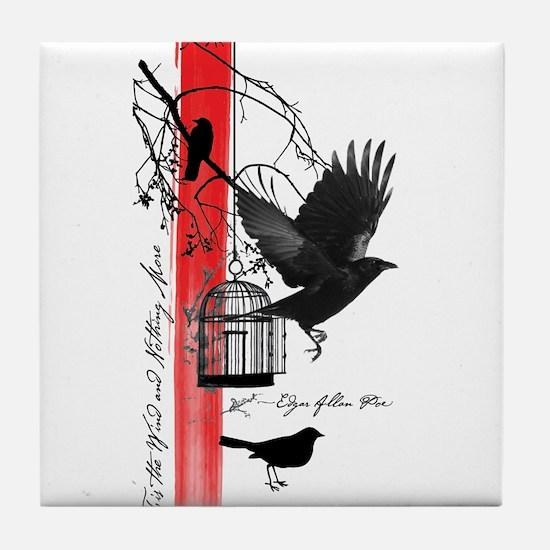 The Raven Tile Coaster