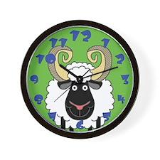 Happy Ram Wall Clock