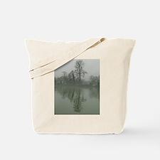 Misty Moorings Tote Bag