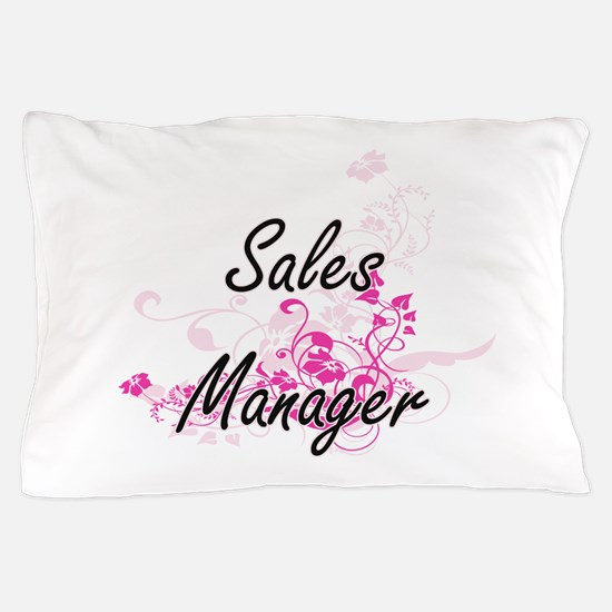Sales Manager Artistic Job Design with Pillow Case