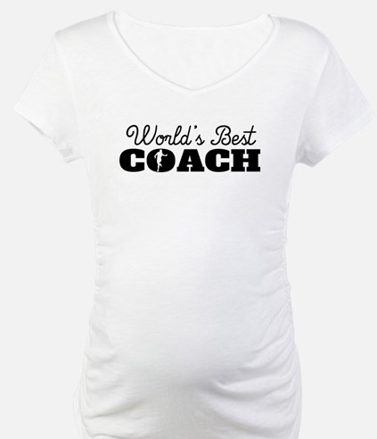 Worlds Best Running Coach Shirt