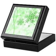 Snowflakes Christmas Keepsake Box