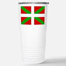 Basque Flag Stainless Steel Travel Mug