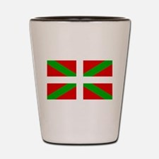 Basque Flag Shot Glass