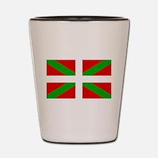 Basque Flag Shot Glass