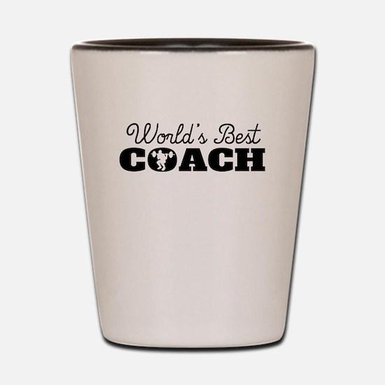 Worlds Best Strength Coach Shot Glass