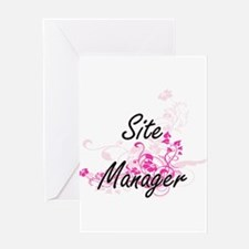 Site Manager Artistic Job Design wi Greeting Cards