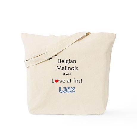 Malinois Lick Tote Bag