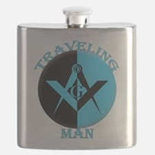 The Traveling Man Flask