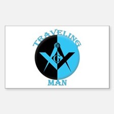 The Traveling Man Decal