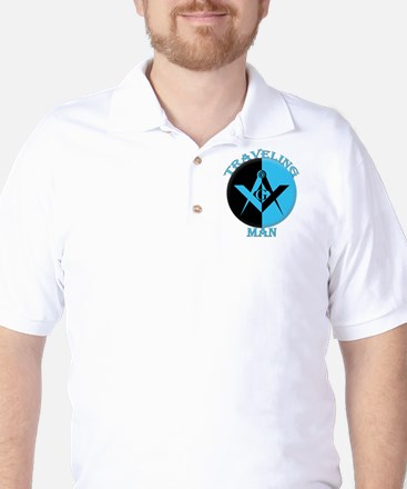The Traveling Man Golf Shirt