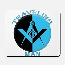 The Traveling Man Mousepad