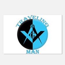 The Traveling Man Postcards (package Of 8)