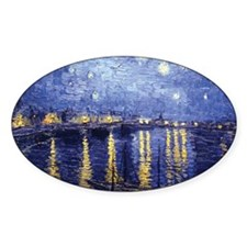 Starry Night Over the Rhone by Van Gogh Decal