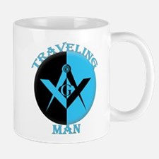 Traveling Man's Mug Mugs