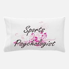Sports Psychologist Artistic Job Desig Pillow Case