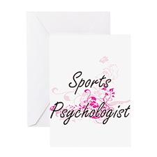 Sports Psychologist Artistic Job De Greeting Cards