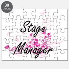 Stage Manager Artistic Job Design with Flow Puzzle