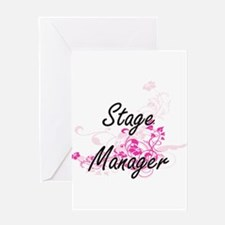 Stage Manager Artistic Job Design w Greeting Cards