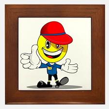 Smily buddy Framed Tile