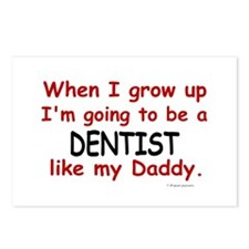 Dentist (Like My Daddy) Postcards (Package of 8)