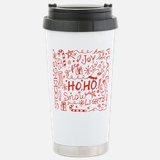 Holiday Doodles Travel Mug
