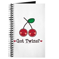 Got Twins Cherry Twin Journal