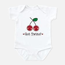 Got Twins Cherry Twin Infant Bodysuit