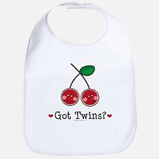 Got Twins Cherry Twin Bib