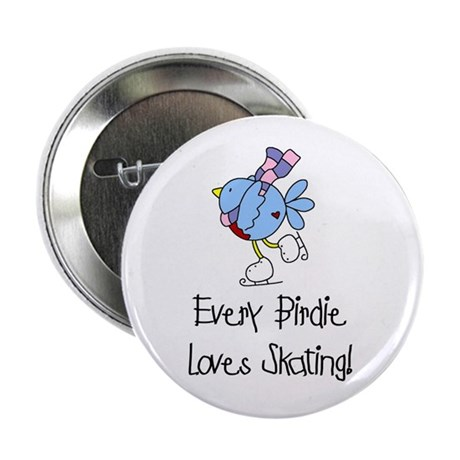 "Every Birdie Loves Skating 2.25"" Button (10 pack)"