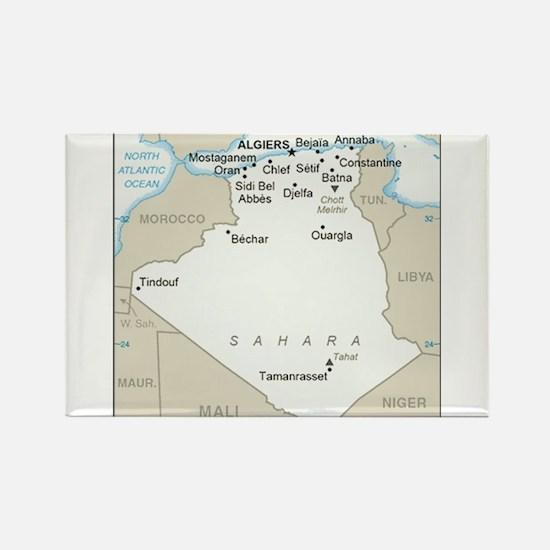 Algerian Map Magnets