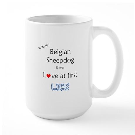 BelgianSheep Lick Large Mug