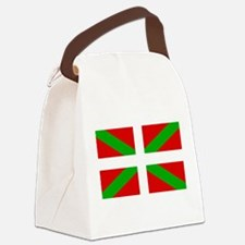 Basque Flag Canvas Lunch Bag