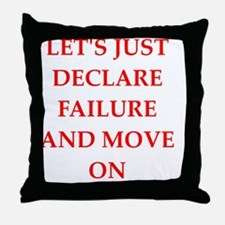 Unique Defeat Throw Pillow
