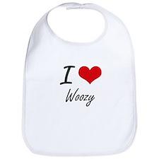 I love Woozy Bib