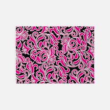 pink damask rugs pink damask area rugs indoor outdoor rugs. Black Bedroom Furniture Sets. Home Design Ideas