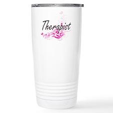 Therapist Artistic Job Travel Mug