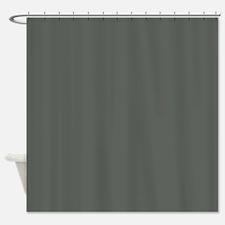 Charcoal briquette Shower Curtain
