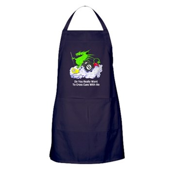 Pool Playing Dragon Bar Apron by OTC Billiard Designs