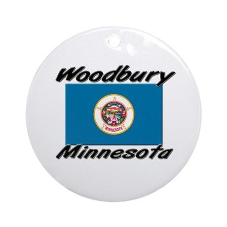 Woodbury Minnesota Ornament (Round)