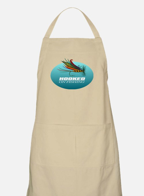 Hooked On Fishing (Fly) Apron