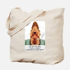 Cute Stop smoking Tote Bag
