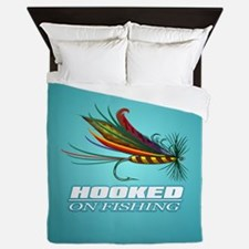 Hooked On Fishing (Fly) Queen Duvet