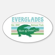 Everglades National Park Alligator Decal Decal