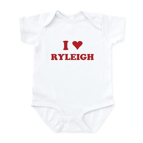 I LOVE RYLEIGH Infant Bodysuit