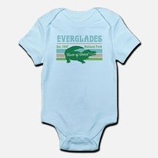 Everglades National Park Alligator Decal Body Suit