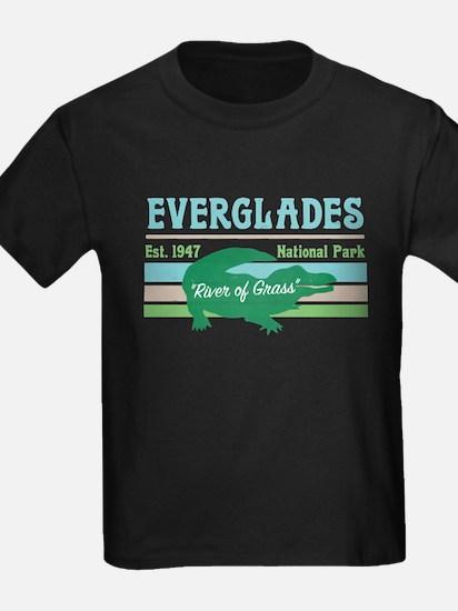 Everglades National Park Alligator Decal T-Shirt